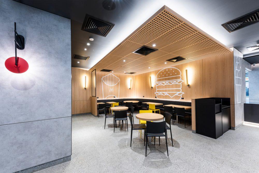 Modern and Minimal McDonald's